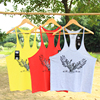 2018 Bodybuilding Clothing Brands Cotton T-shirts for Male Tank Top Men's Vest Sleeveless Fitness Stringers ZYZZ Blouses Spring 5