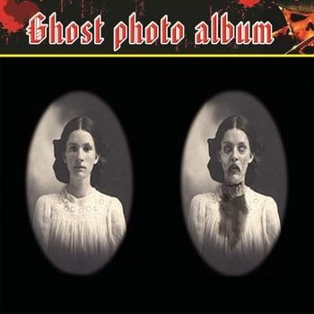 3D twarz zmiana duch rama Horror ramki do zdjęć zmiana twarzy duch impreza z okazji Halloween Decor Halloween rekwizyty do dekoracji