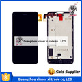 100% New Tested Black LCD For Nokia Lumia 630 N630 Screen Display With Touch Digitizer Assembly 4.5 inch 1 piece Free Shipping