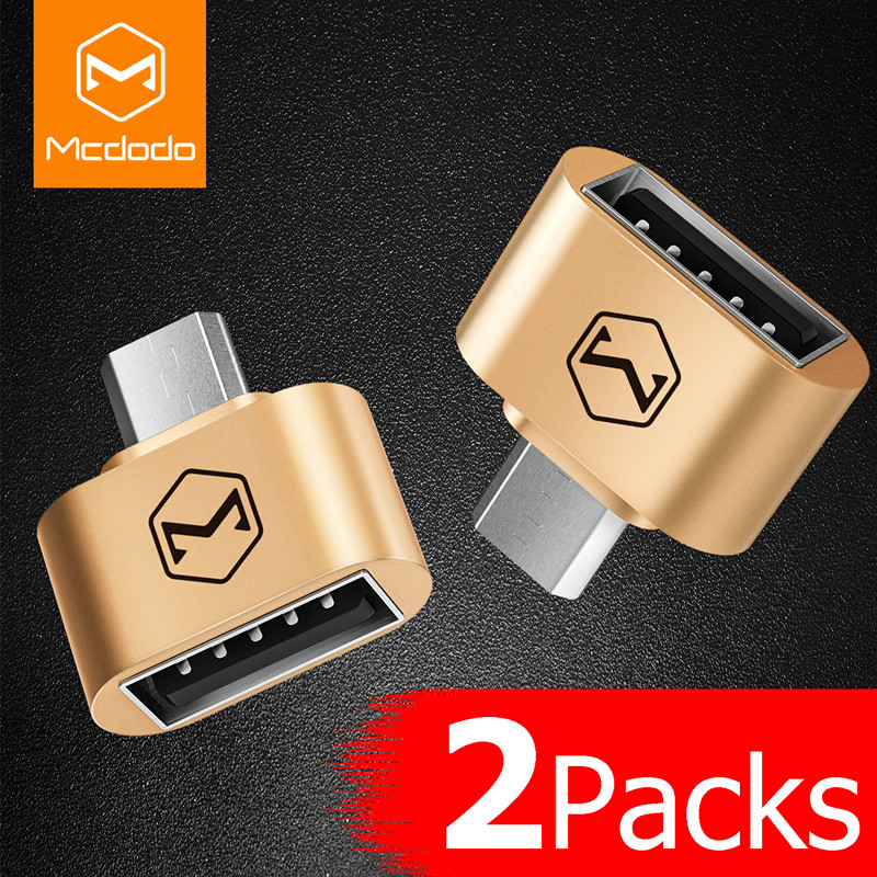 Mcdodo OTG Micro USB OTG Cable Adapter 2.0 Converter For Mobile Phone Android Samsung USB Tablet Pc to Flash Drive Mouse OTG Hub