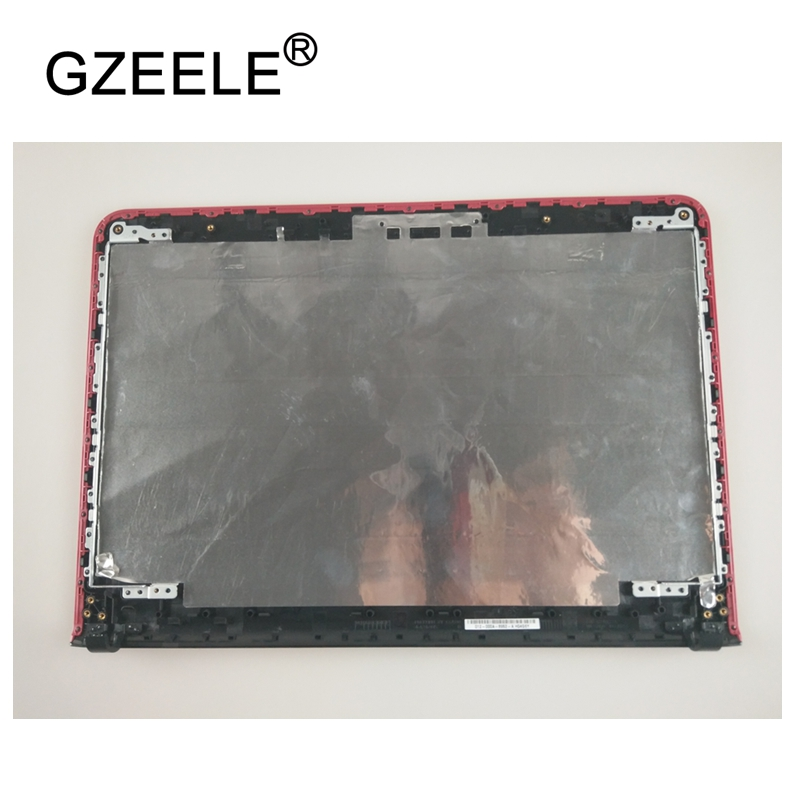 GZEELE Used Laptop Top LCD Back Cover Case For SONY Vaio SVE14A BLACK 012-000A-8952