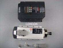 Cnc spindle kit ER11 air cooling 1.5KW spindle t+1 piece 1.5kw inverter