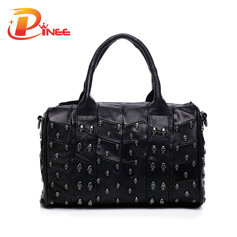 Top Fashion Genuine Leather font b Handbag b font font b Women b font Messenger font
