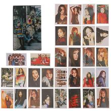 30pcs/set You Pop Red Velvet And BLACKPINK Album LOMO Cards K-POP New Self Made Paper Photo Card HD Photocard(China)