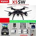 SYMA X5SW/X5SW-1 WIFI RC 6-Axis Drone Quadcopter con FPV Cámara Sin Cabeza En Tiempo Real RC Helicóptero Quad copter Juguetes