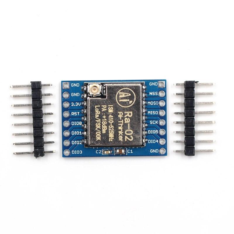 SX1278 LoRa CARTE du Module 433 M 10 KM Ra-02 Sans Fil Propagation SpectrumTransmission Prise pour Smart Home DIY
