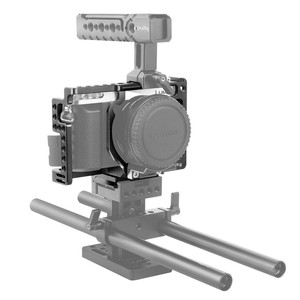 Image 4 - SmallRig gx85 Camera Cage for Panasonic Lumix DMC GX85/GX80/GX7 Mark II Cage With Cold Shoe Nato Rail  1828