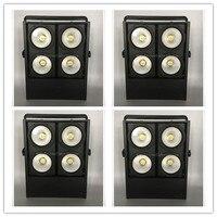 4Xlot Stage light 4 eyes LED 400W COB audience blinder Light 10m Lighting Distance led dmx blinder