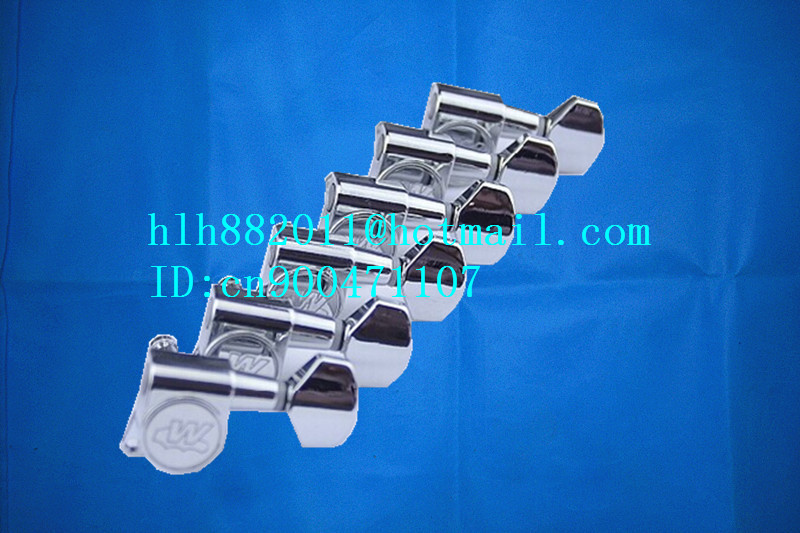 free shipping new electric  guitar tuning peg guitar button in chrome for one side of the guitar  WJN07  N10 цена и фото