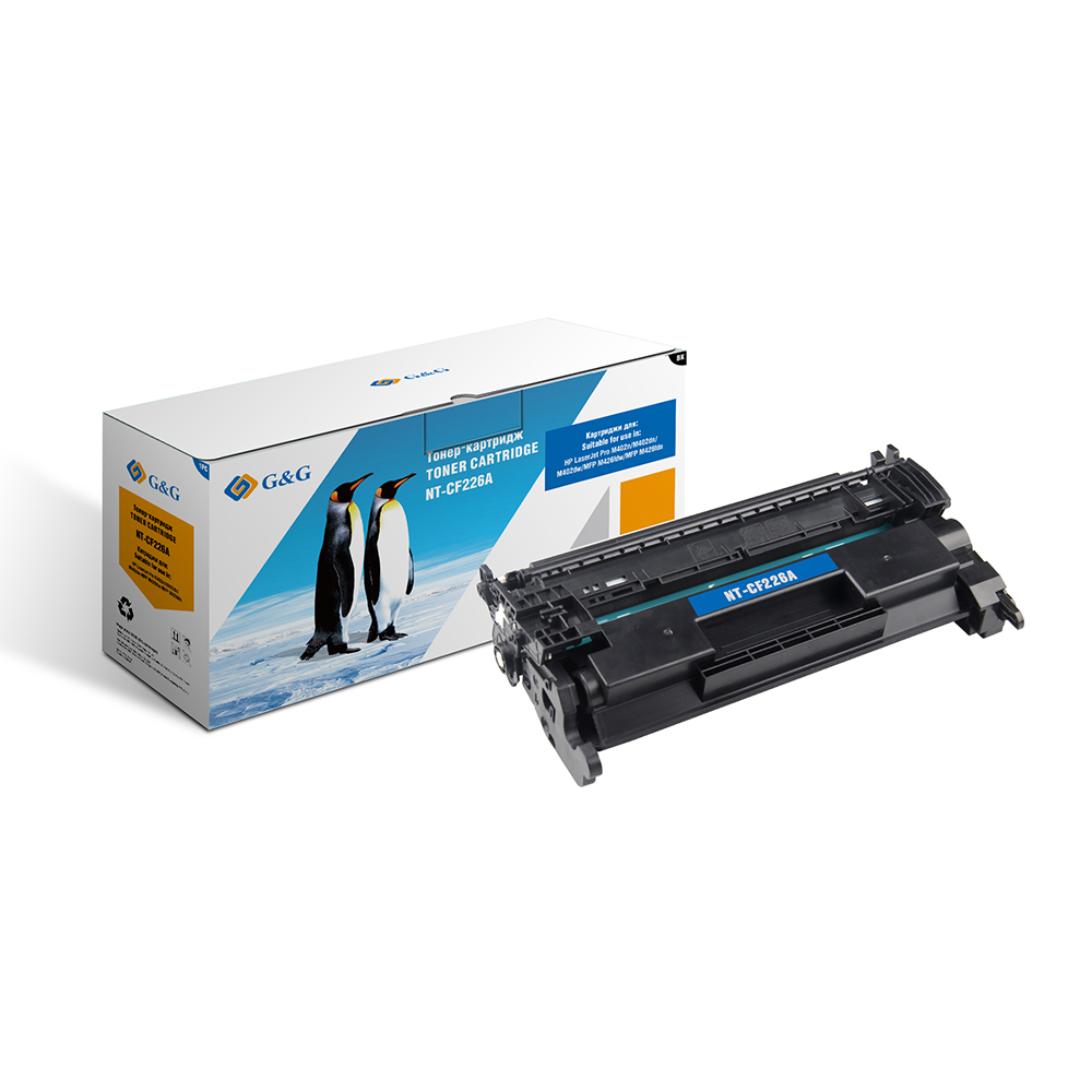 Computer Office Office Electronics Printer Supplies Ink Cartridges G&G NT-CF226A for HP LaserJet Pro400 M402n/dn/dw MFP M426 dw aluminum project box splitted enclosure 25x25x80mm diy for pcb electronics enclosure new wholesale