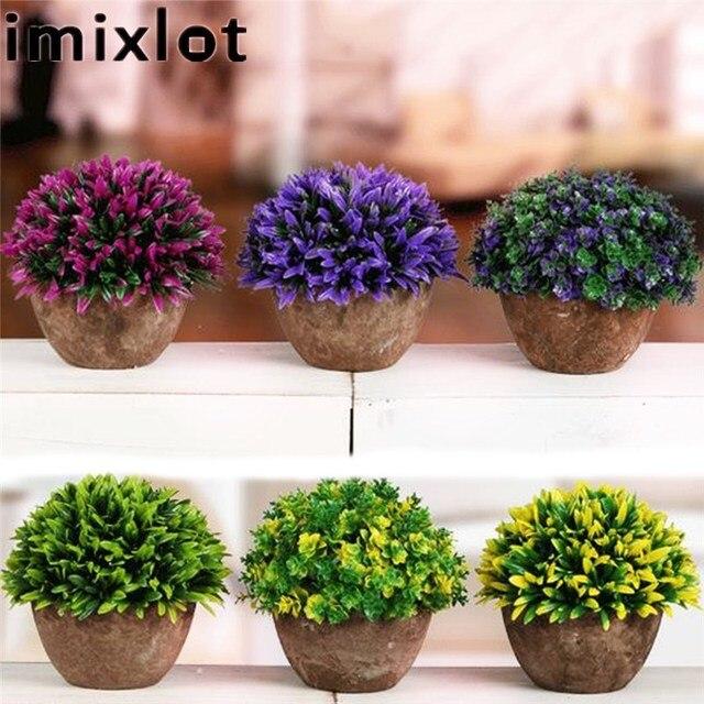 Boom In Pot Tuin.Imixlot 1 St Kunstmatige Topiary Boom Bal Groene Planten Pot Tuin Office Home Decoration 6 Kleuren Beschikbaar Kinderen Geschenken In Imixlot 1 St