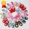 SDMOCCS New Cotton winter Lovely Baby Shoes Toddler Unisex Soft Sole Skid-proof Kids infant Shoe 0-18M  Drop Shipping