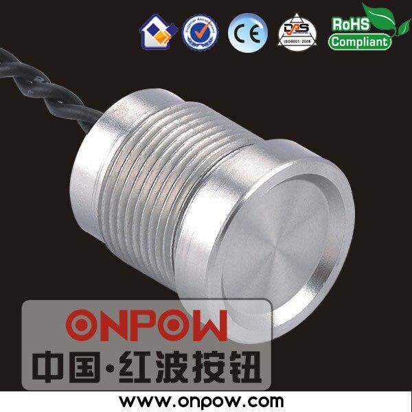 ONPOW 16mm piezo commutateur IP68 (CE, RoHS) PS165Z10YNT1