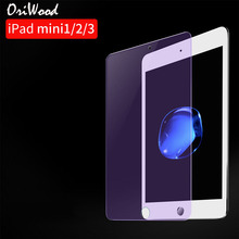 2.5D Full Cover Anti Blue Ray Screen Protector For Apple iPad mini 1 2 3 4 7.9 Tempered Glass For Apple iPad 2017 2018 9.7 Film подставка под шип cold ray spike protector 2 medium gold 4 шт