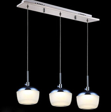 3 head modern griggles-design LED pendent lamp acrylic pendent light dining room lighting 110-260v free shipping