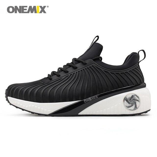 ONEMIX Женские кроссовки увеличивающие рост обувь для прогулок света холодный высокое беговые кроссовки дезодорант влаги развеять
