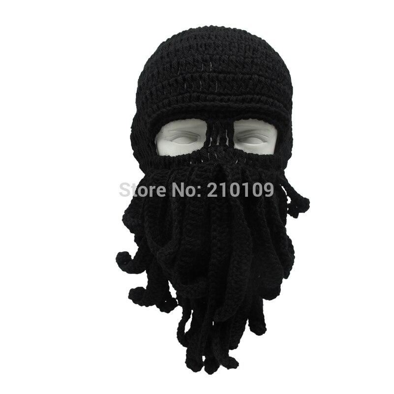 Dropwow Mrkooky Handmade Funny Tentacle Octopus Hat Crochet Cthulhu