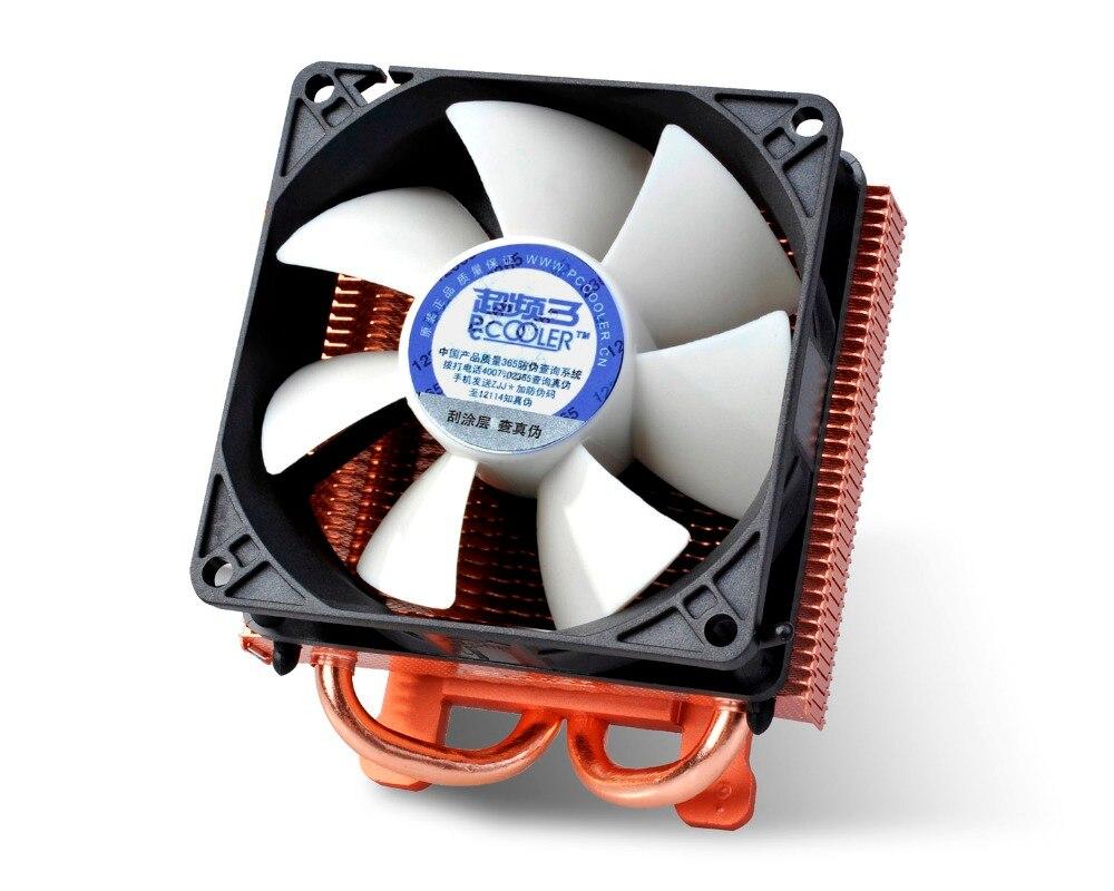 PCcooler K80 80mm fan 2 heatpipe Graphics cooler, graphics card cooler cooling VGA 8cm fan GPU radiator
