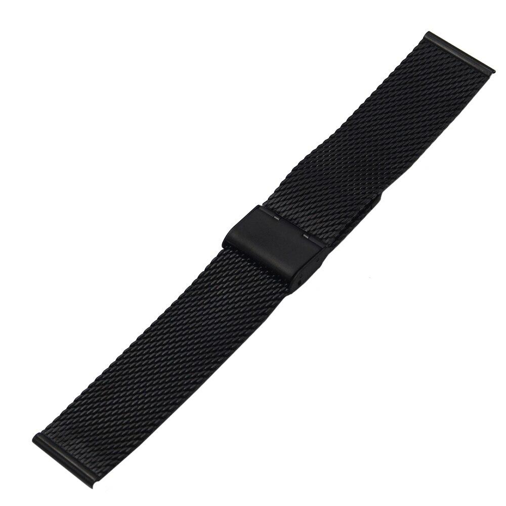 Stainless Steel Watch Band for DW Daniel Wellington Watchband 18mm 20mm Men Women Metal Strap Belt Wrist Loop Bracelet Silver