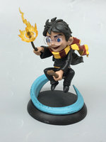 Original Garage Kit Classic Toy 10cm Harry Potter Flying with Base Hermione spell Action Figure Collectible Model Loose Toy