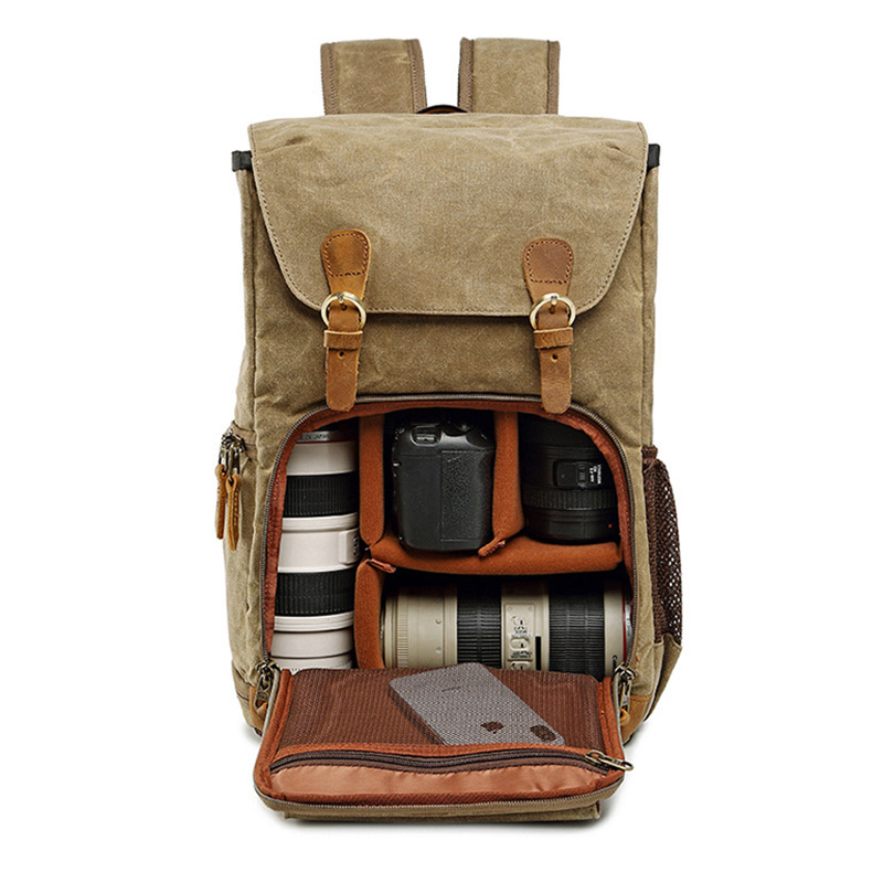 Laptop Bag Sony Nikon Photo-Backpack Waterproof Fit No for Canon DSLR Photography-Lens
