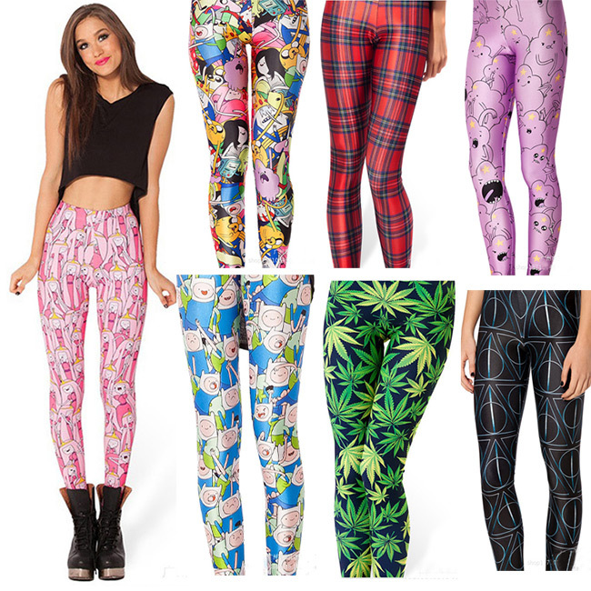 Plaid Cartoon Women   Legging   Womens   Leggings   Jeggings Women Pants Legings Sexy   Legging   Pants Legins Sexy Printed   Leggings   Hot