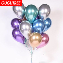 Decorate 50pcs 12inch blue pink red green latex balloons wedding event christmas halloween festival birthday party PD-125