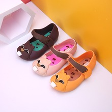Mini owl jelly sandal girl shoes in summer sapato infantil  sandal toddler  girl shoes comfortable