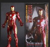Movie Figure 30 CM Iron Man Mark XLV MK45 1 6 Scale Painted PVC Action Figure