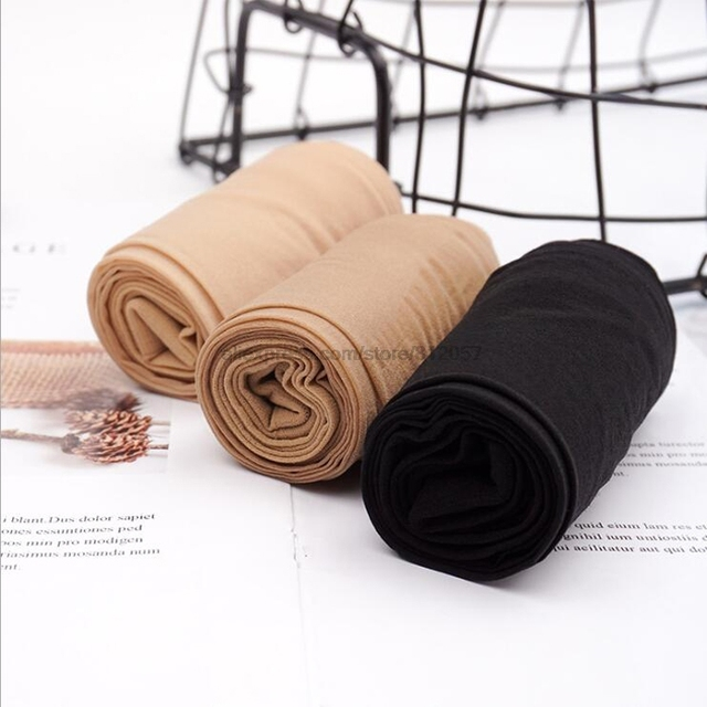 Women's Tear-resistant Pantyhose Sexy Nylon Tights Anti Hook Thin Black nude High elasticity Stockings Breathable T crotch 4