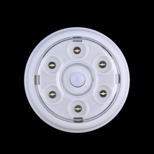 6 LED DC 3 6V Wireless Infrared PIR Auto Sensor Motion Detector Battery Powered Door Wall
