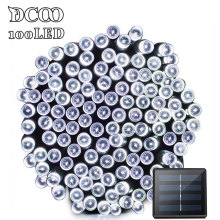 Dcoo Solar LED String Lights 100 Light 8 Modes Garden Outdoor Lighting Led Solar Light Outdoor Holiday Christmas Pisca Pisca