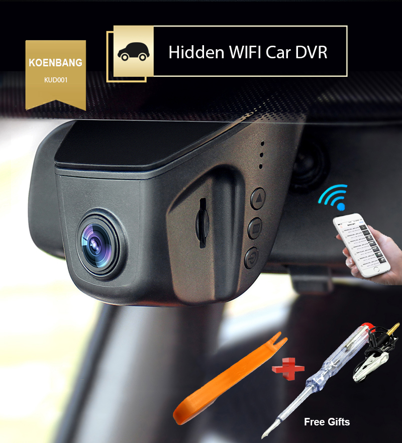 KOENBANG KOEN Car DVR Novatek 96655 Full HD1080P 6G obiektyw H.264 Mini Car Dash Camera Video Recorder Dashcam