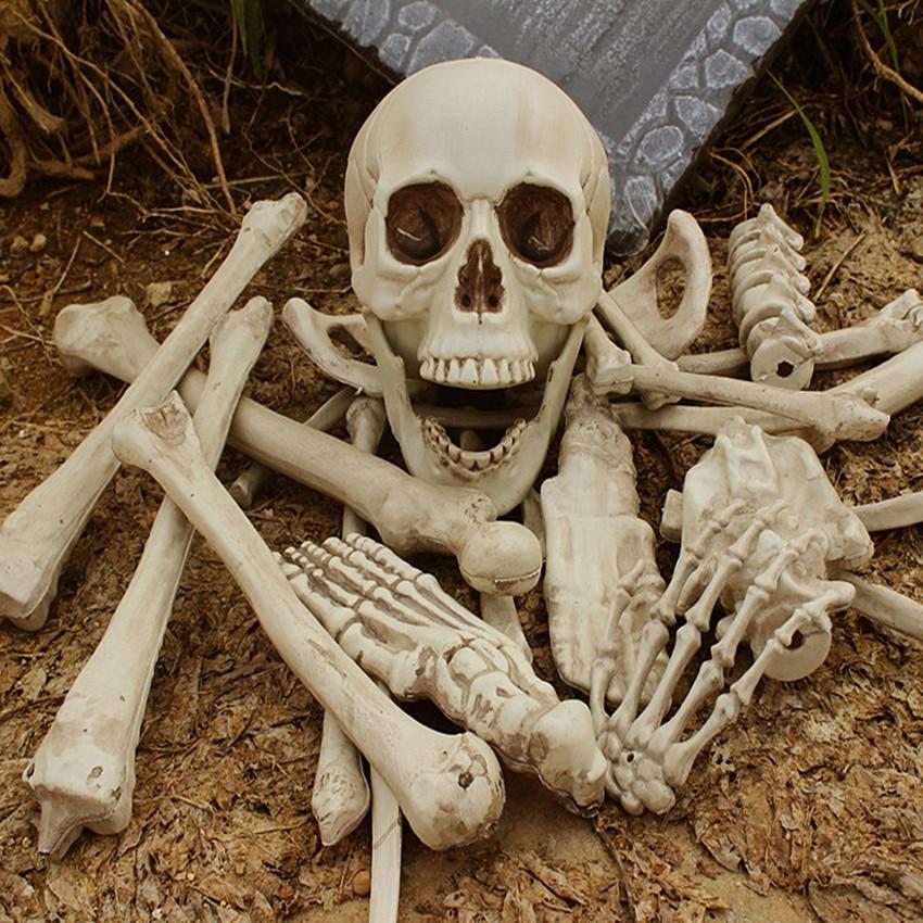 Plastic de Halloween schelet 1 sac de oase 28PCS simulare umane oase - Produse noi și jucării umoristice