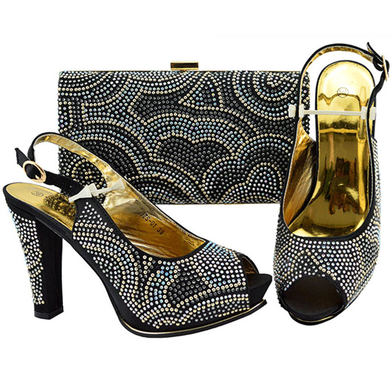 Alta Bolsos Conjuntos Zapatos Calidad amarillo Sandalias Italianos fuchsia roayl Con A El Para Blue Lujo De Bolsa Partido púrpura Mujeres Juego Negro Y La TxPCqIESwn