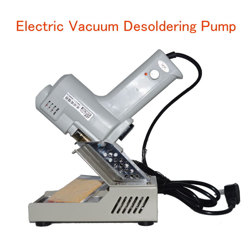 Electric Vacuum Desoldering Pump Electric Suction Tin Gun 110V/220V 90W De-solder Gun Electric Soldering Irons S-993A free shipping desoldering gun 842a 220v 30w suction tin soldering iron 2 in 1 electric suction tin tip tong acupuncture