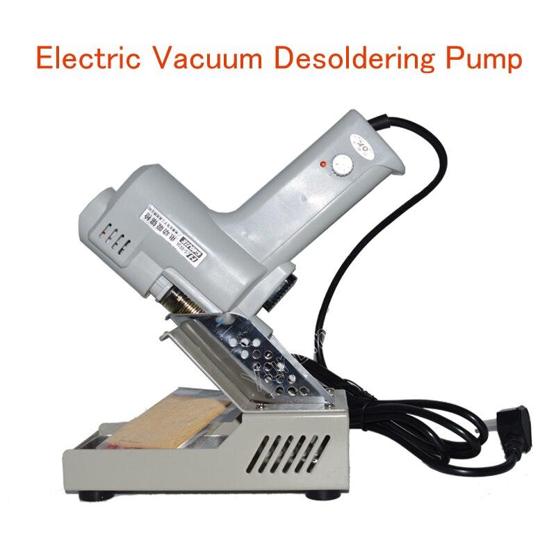 Vide électrique Pompe À Dessouder Électrique Aspiration Étain Pistolet 110 V/220 V 90 W De-soudure Gun Électrique Fers à souder S-993A