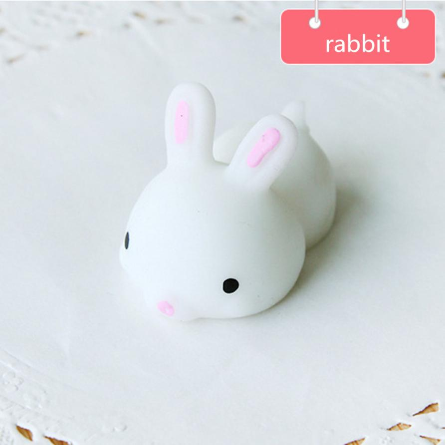 The New Product Of The Hot Sale Slow Rising Cute Animals White Pressure Relief Toys Fun Kids Kawaii Kids Adult Toy Stress