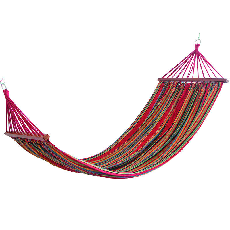 Super Load-bearing Multi-color Hammock Camping Cotton Canvas 200*150*100cm Rollover Prevention Hanging Chair Outdoor Leisure BedSuper Load-bearing Multi-color Hammock Camping Cotton Canvas 200*150*100cm Rollover Prevention Hanging Chair Outdoor Leisure Bed
