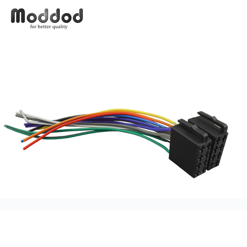 universal iso wiring harness car stereo adapter connector. Black Bedroom Furniture Sets. Home Design Ideas