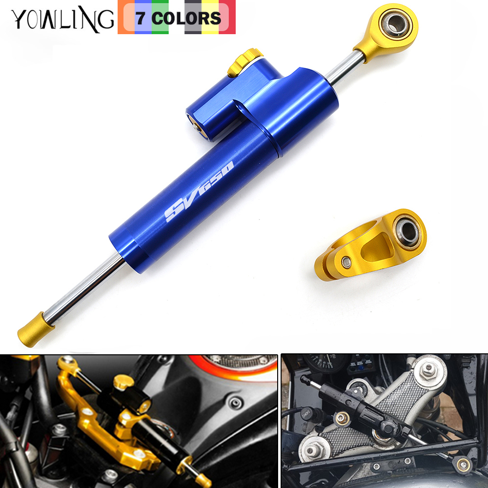 Damper Steering StabilizerLinear Reversed Safety Control Over 600CC Bike For Suzuki SV650 SV650S 2004 2005 2006 2007 2008- 2011 сварочный аппарат patriot 250 dc mma кейс