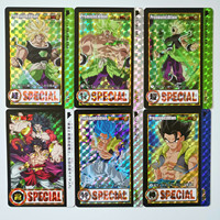 45pcs/set Brol Super Dragon Ball Heroes Battle Ultra Instinct Goku Vegeta Super Game Collection Anime Cards