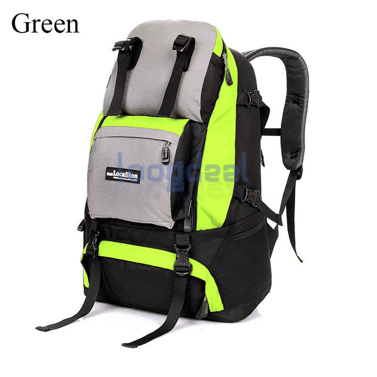 cf1d7158bde1 Wholesale Mountaineering Outdoor Travel Shoulder Bag Student Backpack Men  and Women 40L Hiking Traveling Backpack Tourism xiaomi-in Travel Bags from  Luggage ...