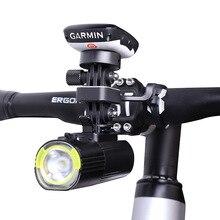 Nieuwe Aluminium Legering Fiets Mount Voor Mobiele Telefoons Bike Computer Gopro En Gaciron Fiets Licht