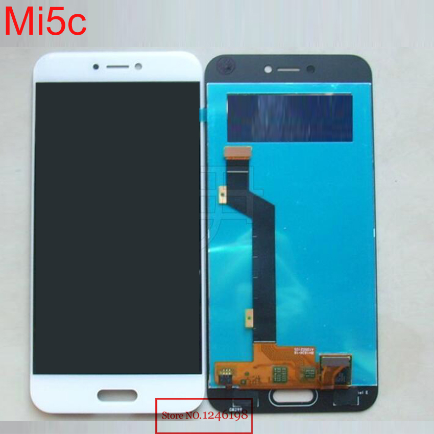 NEW Arrival TOP Quality Full LCD Display Panel with Touch Screen Digitizer Assembly For Xiaomi Mi5c M5c Mi 5c Phone parts