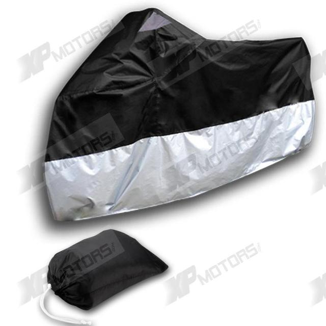 Hot Sale Motorcycle Waterproof Cover For Kawasaki ZZR ZRX400 1100 ZRX1200R ZX7R ZX9R ER-5 ER-6N/F  220*95*110