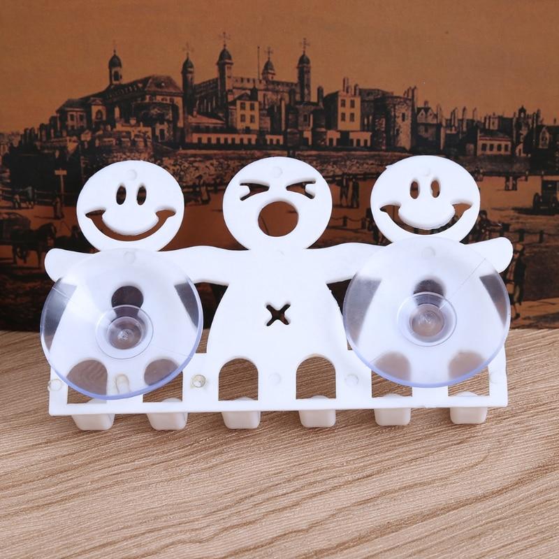 Arwdfg Neue Zahnbürste Halter Wand Montiert Saugnapf 5 Position Nette Cartoon Badezimmer Sets Heißer Badezimmerarmaturen
