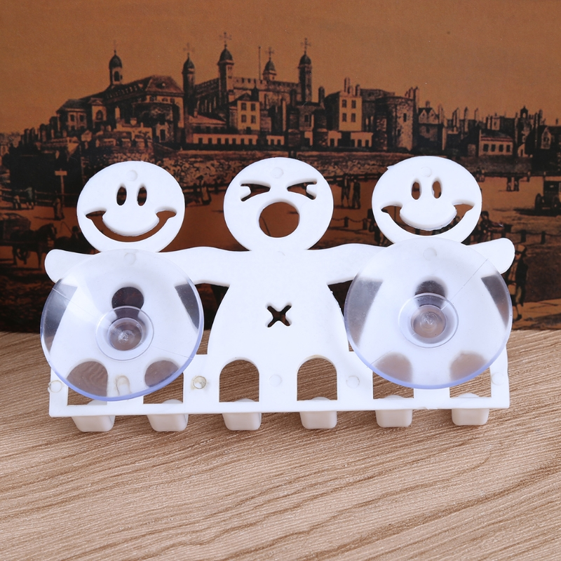ARWDFG New Toothbrush Holder Wall Mounted Suction Cup 5 Position Cute Cartoon Bathroom Sets hot