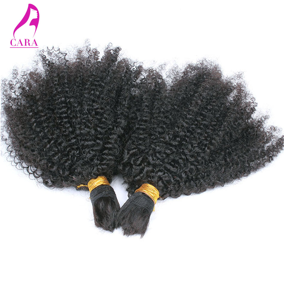 Human Braiding Hair Bulk 1Pc Afro Kinky Bulk Hair For Braiding 6A Afro Kinky Curly Human Hair For Braiding Bulk No Attachment