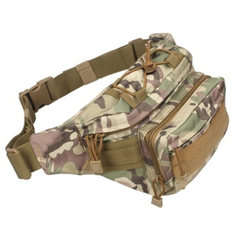Outdoor Sports Military Tactical Waist Pack Shoulder Bag Utility EDC Molle Pouch Airsoft Running Camping Hiking Hunting Bags new tactical military hunting small utility pouch pack army molle cover scheme field sundries bags outdoor sports mess briefcase